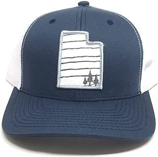 Skye Mountain Co. - Utah 3 Trees Hat | Trucker Hat - Snapback Mesh and FlexFits