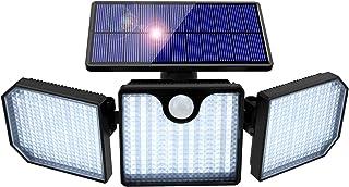 Lampe Solaire Extérieur, Orelpo 230 LED Sécurité de Détecteur Mouvement Lampe avec 270° Grand Angle & IP65 Étanche, Solair...