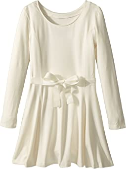Belted Jersey Dress (Little Kids/Big Kids)