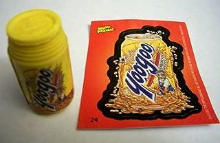 Wacky Packages Eraser Series2 **Yoogoo** Eraser & Matching Sticker #24 Rare!!