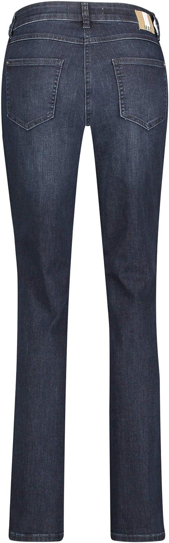 MAC Jeans Melanie Glam Galloon Jeans Femme Bleu Foncé