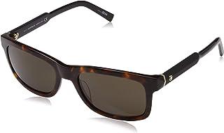 de416dbd42 Montblanc Mont Blanc Sonnenbrille MB653S-52E-55 Gafas de Sol, Plateado  (Silber