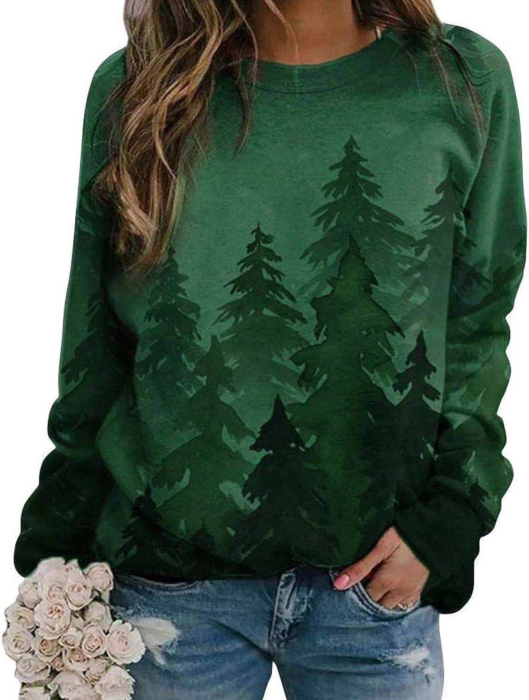 Sweatshirts for Women,Women's Oversized Sweatshirts Crewneck Casual Long Sleeve Pullover Soft Fall Tops Shirts