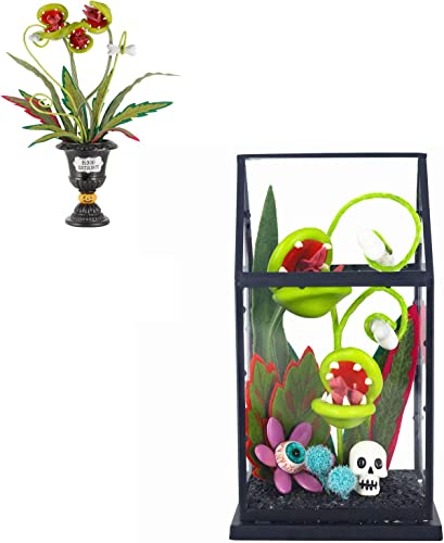 2021 Twinkle 2021 Star Halloween Biting Blossoms sale | Ghoulish Garden Artificial Flowers House online