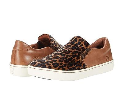 Born Skit (Light Brown (Luggage) Leopard Fabric Combo) Women