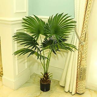 YATAI تقريبا شجرة النخيل الاصطناعية الطبيعية 90 سم النباتات الاصطناعية عالية للديكور المنزل في الهواء الطلق حديقة الديكور ...