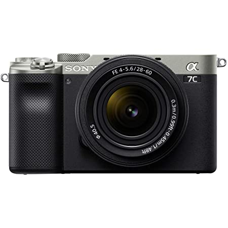 Sony Alpha 7C Full-Frame Compact Mirrorless Camera Kit - Silver (ILCE7CL/S)