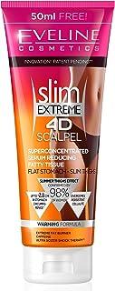 Eveline Cosmetics Slim Extreme 4D skalpell koncentrerad bantningskräm snabb fettbrännare för kvinnor | 250 ml | cellulitbo...