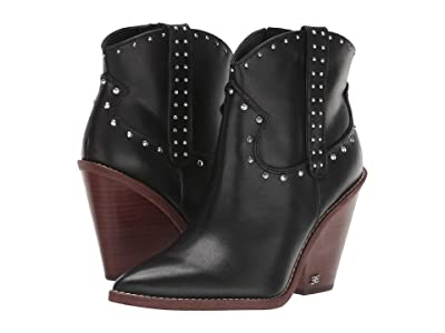 Sam Edelman Iris (Black Vaquero Saddle Leather) Women