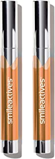 Smileactives – Advanced Teeth Whitening Pens – Hydrogen Peroxide Treatment – Duo Pack - 0.11 Ounce Each (Melon)