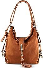 Women Leather Shoulder Bag Female Leisure Nubuck Casual Handbag Hobo Messenger Top-handle bags