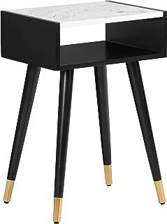 Elle Decor Clemintine Side Table, Noir Black