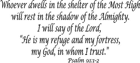 Best psalm 91 1 2 Reviews