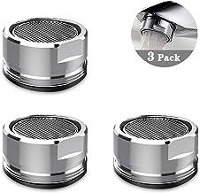 Ajustable en 2 diferentes chorros de agua Aireador para grifo gira 360/° Extensi/ón larga 12 cm Accesorio de ahorro de agua para grifo Rosca M22 // M24