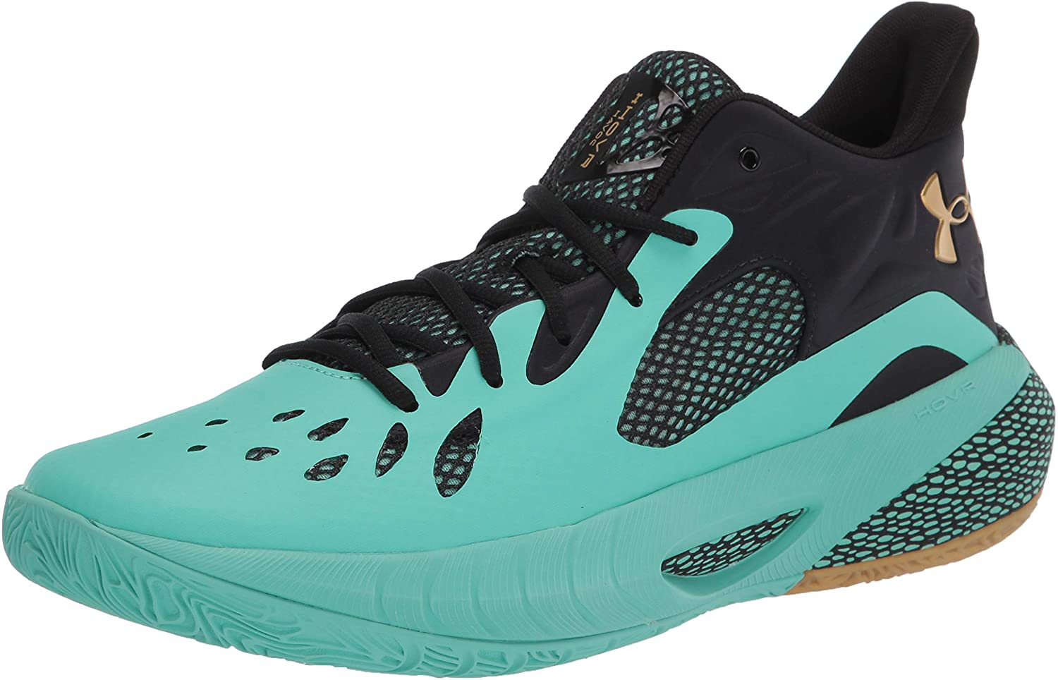 Under Armour Free shipping / New Unisex HOVR Havoc Credence Comet Shoe 3 Green Basketball