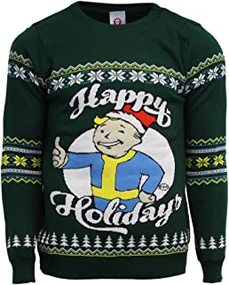 Official Fallout Happy Holidays Christmas Jumper/Ugly Sweater