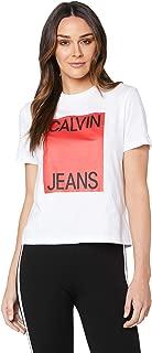 Calvin Klein Jeans Women's Straight Fit T Shirt