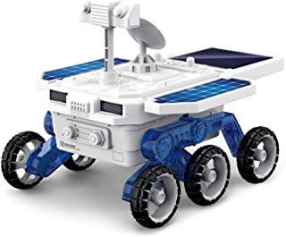 ASSENIO Solar Robot Kits DIY Solar Power STEM Car Toys for Ages 8-12 Kids, Education Gifts Science Experiment Building Pro...
