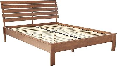 Midtown Concept Michigan Mid-Century Queen Bed, Cocoa