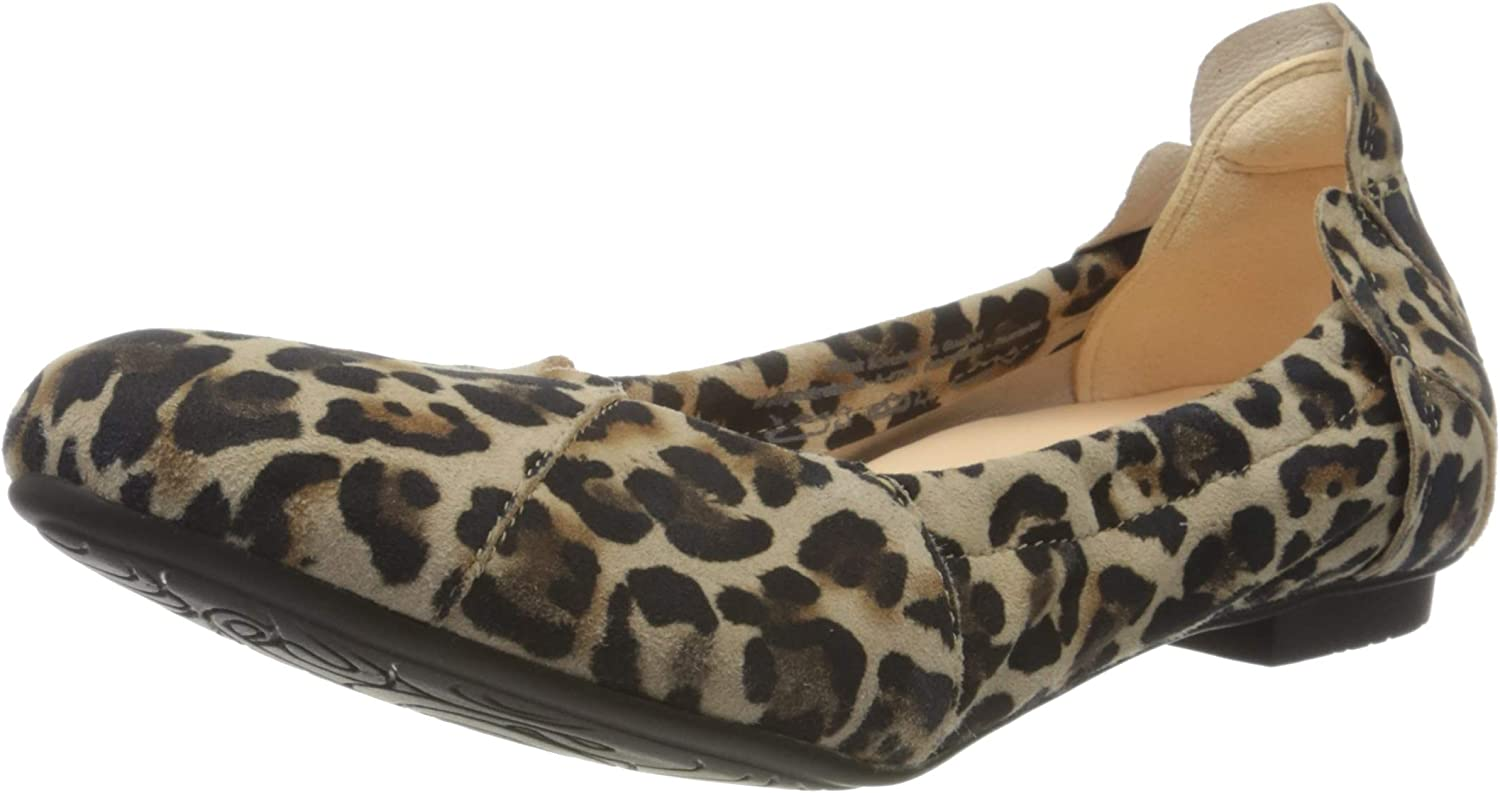 Think Women's Ballet Flat Multicolour Closed Flats Max 76% OFF Special Campaign Toe