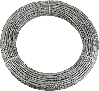 Best vinyl coated steel cable Reviews