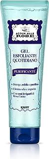 Acqua alle Rose Gel Esfoliante Quotidiano Purificante, Scrub Viso Delicato, 150 ml