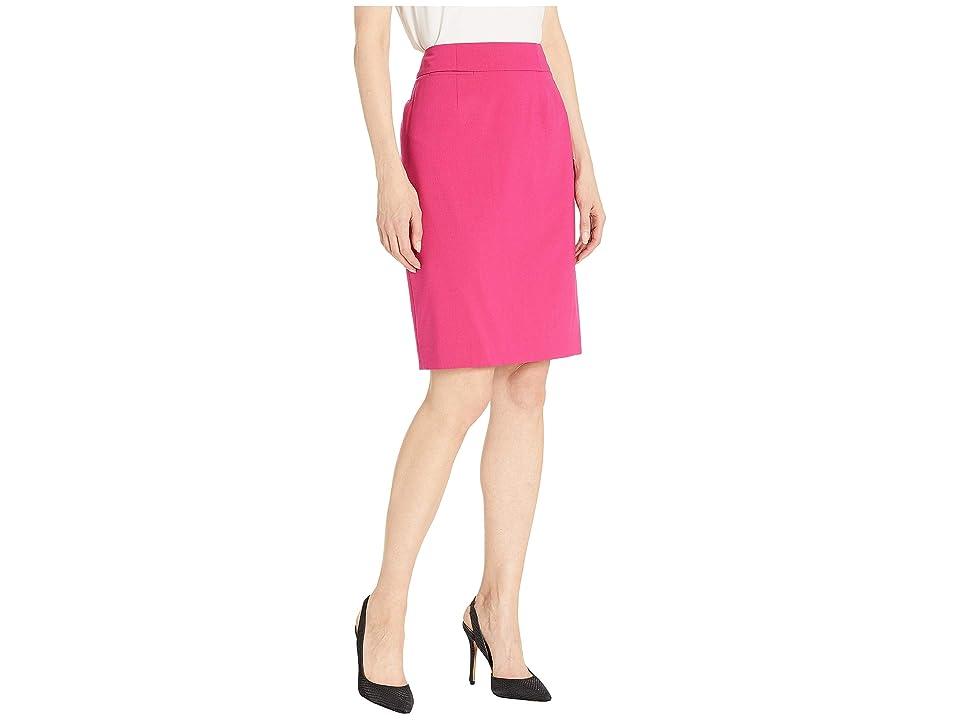 Calvin Klein Lux Straight Skirt (Vivacious) Women