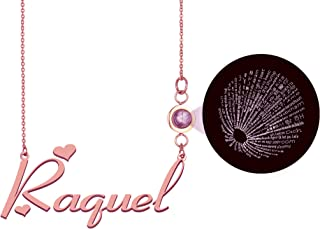 GR859C Personalized Custom Any Name I Love You Necklace