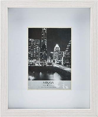 MIKASA Matted Set of 4 MDF Frame, White