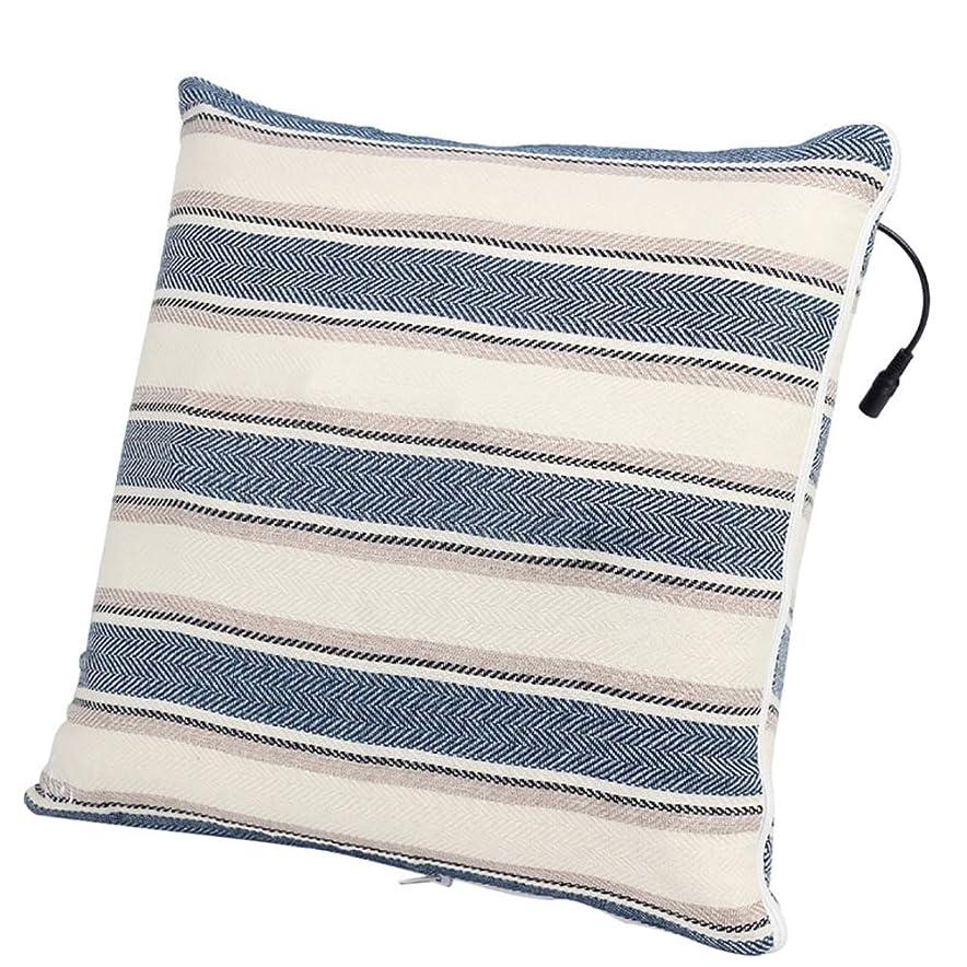 ブリーフケース元気な飛ぶマッサージ枕、1つの枕万能ディープ混練指圧マッサージクッションとなだめるような熱リラックスボディ筋肉ポータブル便利な洗える