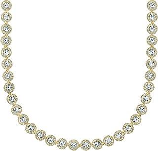 SWAROVSKI Angelic All-Around Round Necklace Crystal One Size