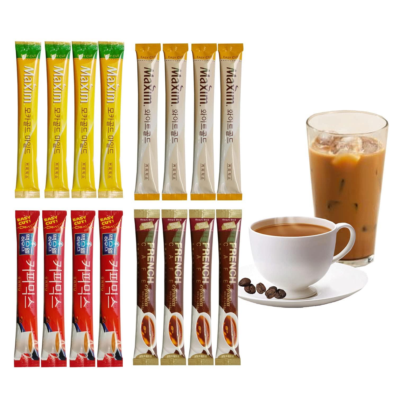NOPIGO Korean Instant Coffee Over item handling ☆ Variety Sample Packets flavors 4 Purchase k