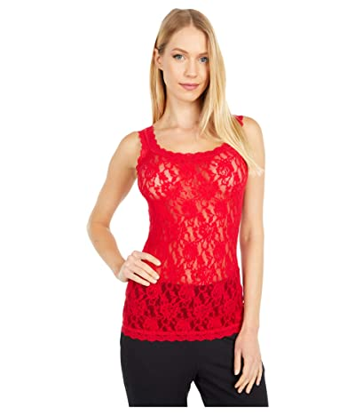 Hanky Panky Signature Lace Unlined Cami (Red) Women