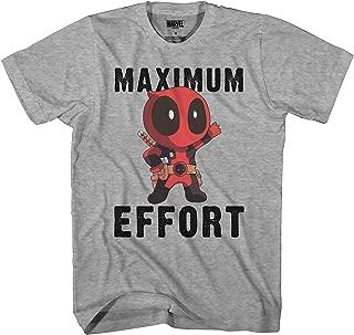 Deadpool Chibi Maximum Effort Men's T-Shirt