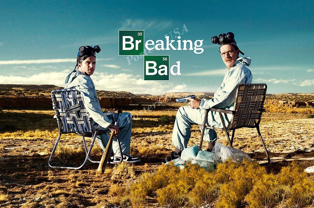 "Season 1 2 3 4 5 Breaking Bad USA TV 24/""x36/"" Poster 093 Better Call Saul"