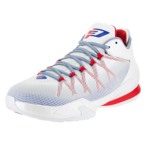 3c1c3bb713bc Nike Jordan Mens Jordan CP3.VIII AE White Game Royal Sprt Rd