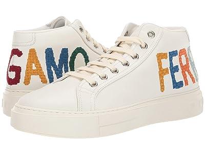 Salvatore Ferragamo Tarifa Sneaker (White) Men