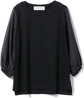 (ビームスライツ)BEAMS LIGHTS/Tシャツ/手洗い可能 スリーブシア Tシャツ レディース