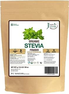 100% Organic Stevia Leaf Powder- an Organic Substitute to Sugar (227g / 0.5 LB / 08 oz)