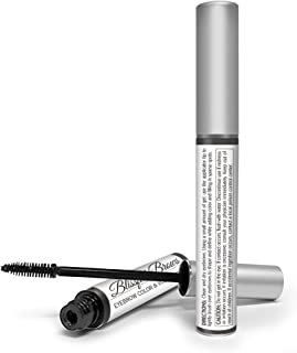 Blissful Brows by Hairgenics – One Step Long Lasting Tinted Eyebrow Gel Infused with Fibers for Thick and Full Brows (Black)