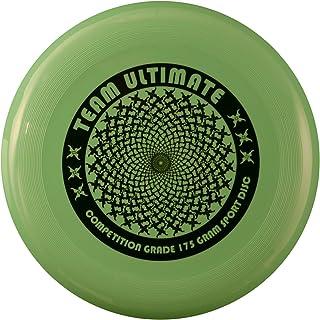 DA VINCI Team Ultimate 175 Gram Flying Sport Disc, Green