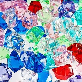 Century Novelty Dashington Bulk Pirate Jewels and Acrylic Gems, 1 Pound Bag, Approximately 160 Pieces