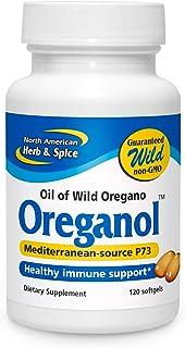 North American Herb & Spice Oreganol P73-120 Softgels - Immune System Support - Unprocessed, Vegan Friendly Wild Oregano -...