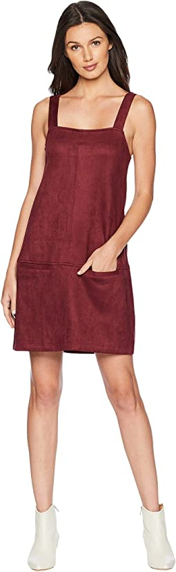 May Day Faux Suede Scuba Dress