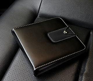 ATIDY® Cuir CD/DVD 20 capacité Cas, catégorie supérieure Lecteur CD Wallet de..