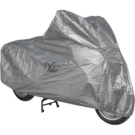 Motorrad Abdeckung Wasserdicht Uv Schutz Garage Roller Silber S Auto