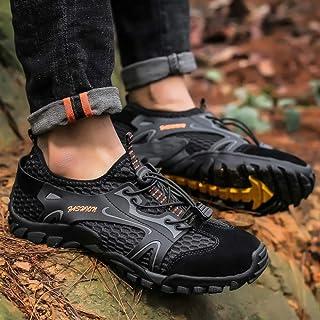 ZZ Calzado De Senderismo De Montaña para Hombre Zapatos De Agua Calzado De Senderismo Al Aire Libre De Gran Tamaño 50 Zapa...