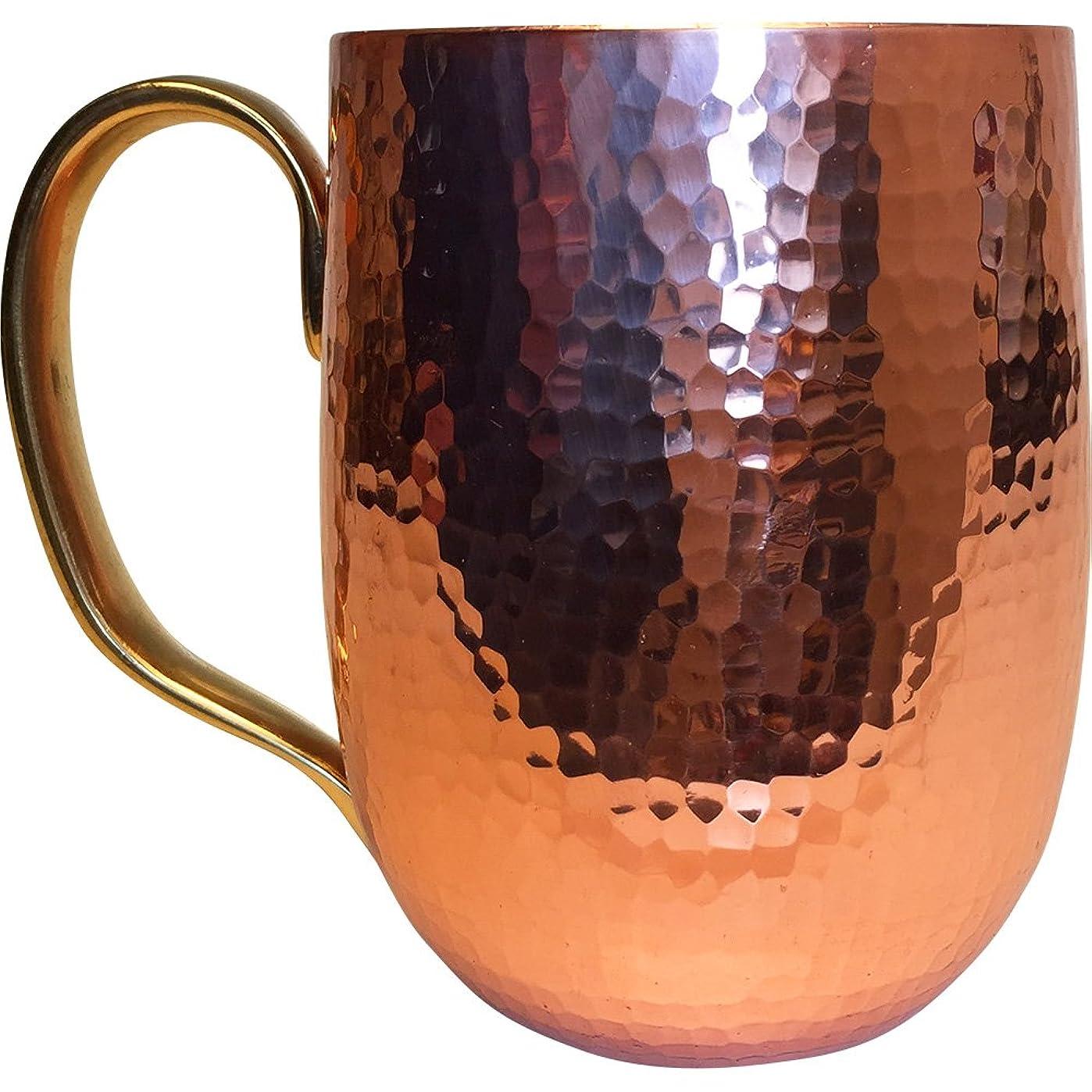 バン虫ハードリング浅草 銅銀銅器店 純銅製 ジョッキ(小) 400cc 職人歴40年の星野さんが作るビアカップ