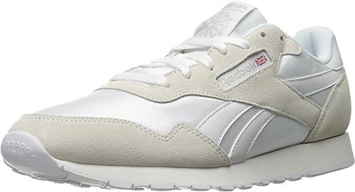 Reebok Hommes's Royal Nylon Walking chaussures, blanc Steel, 6 6 M US  remise