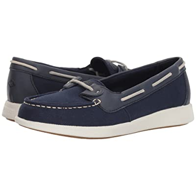 Sperry Oasis Loft Canvas (Navy) Women